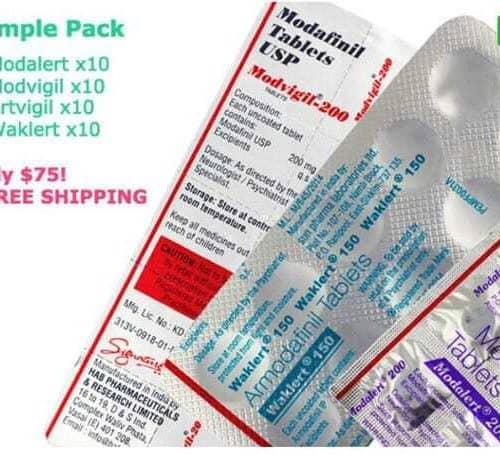 Modafinil Sample Pack