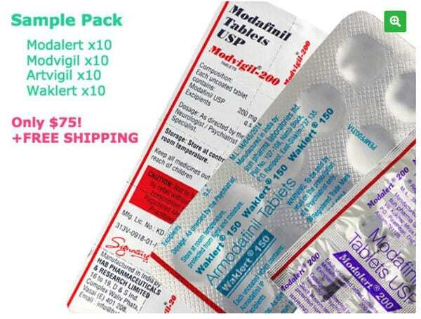Modafinil Sample Pack