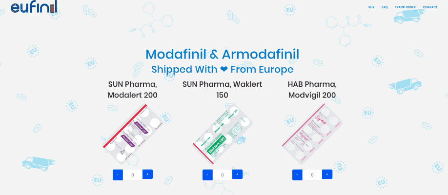Modafinil & Armodafinil Shipped With ❤ From Europe