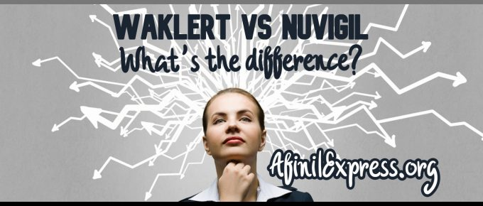 Whats the difference Waklert vs Nuvigil
