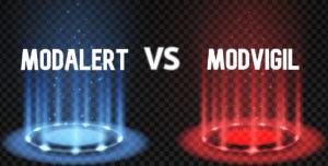 Modalert vs Modvigil logo