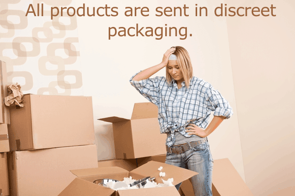 All products are sent in discreet packaging.