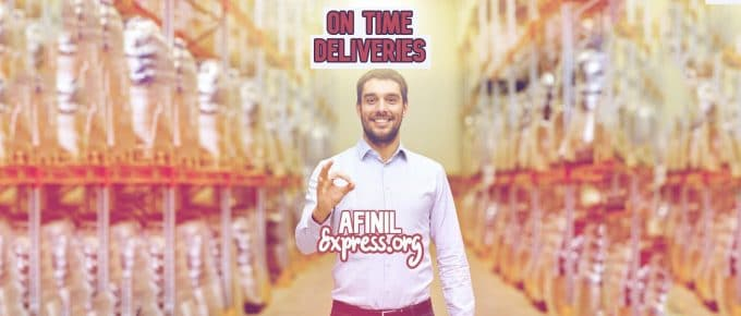on time deliveries, afinil express