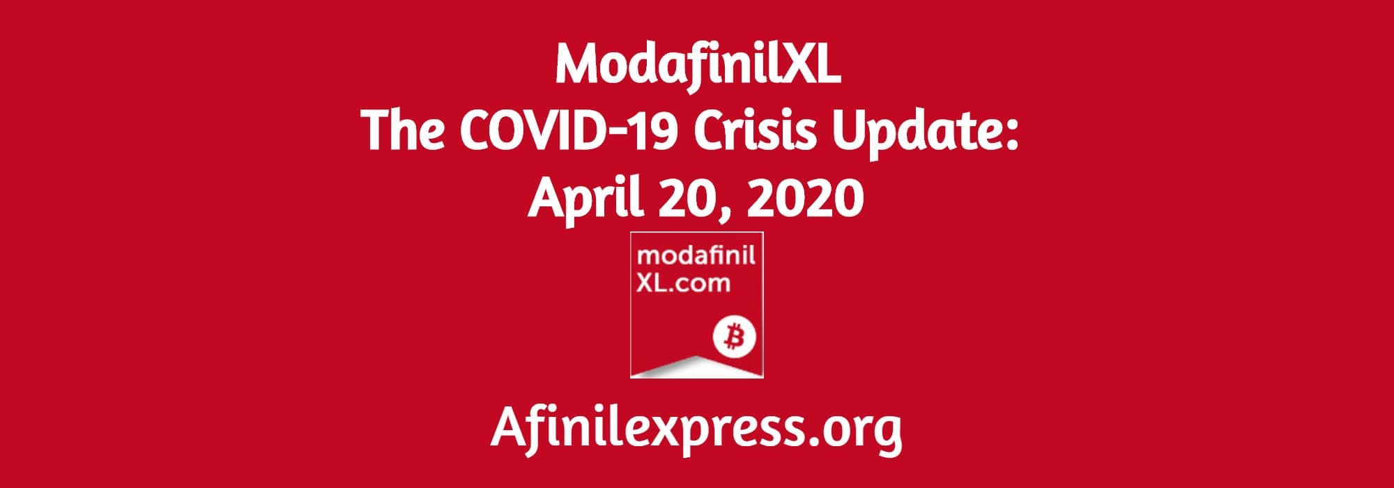 The COVID-19 Crisis Update: April 20, 2020