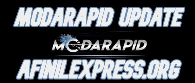 Modarapid update, afinilexpress.org
