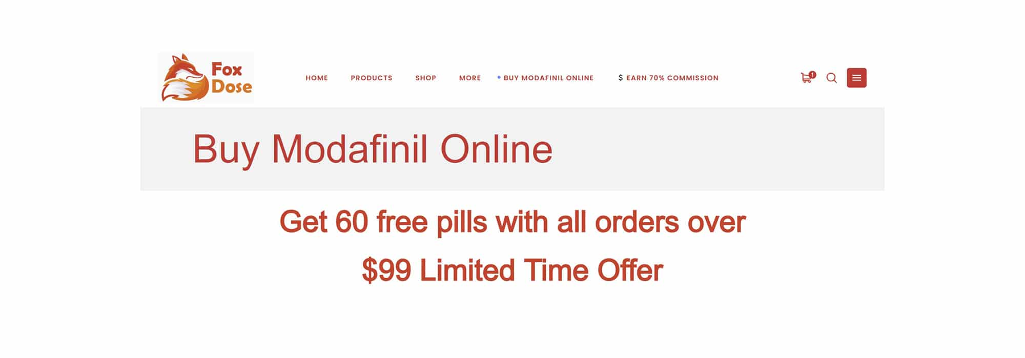 Foxdose 60 free pills