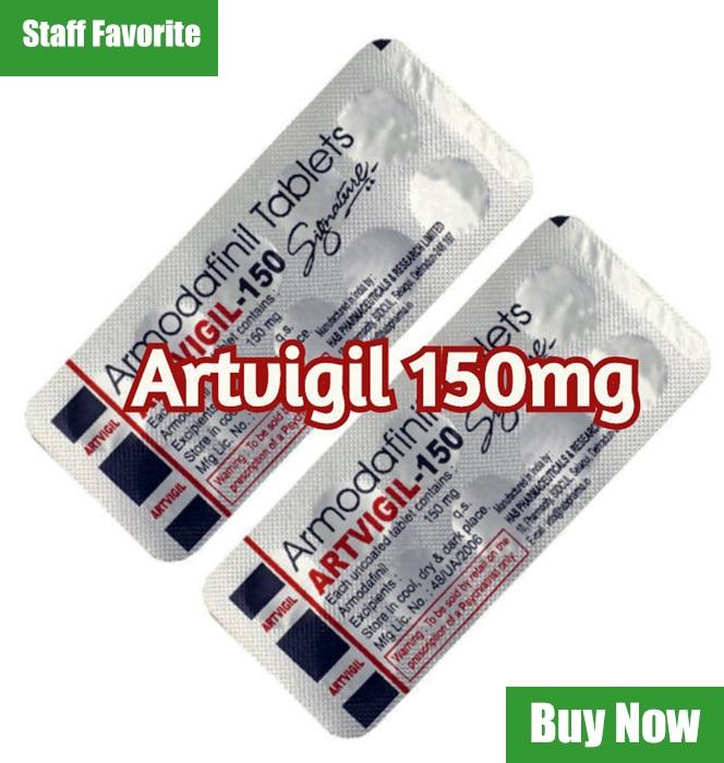 Artvigil 150mg Tablets Staff favorite